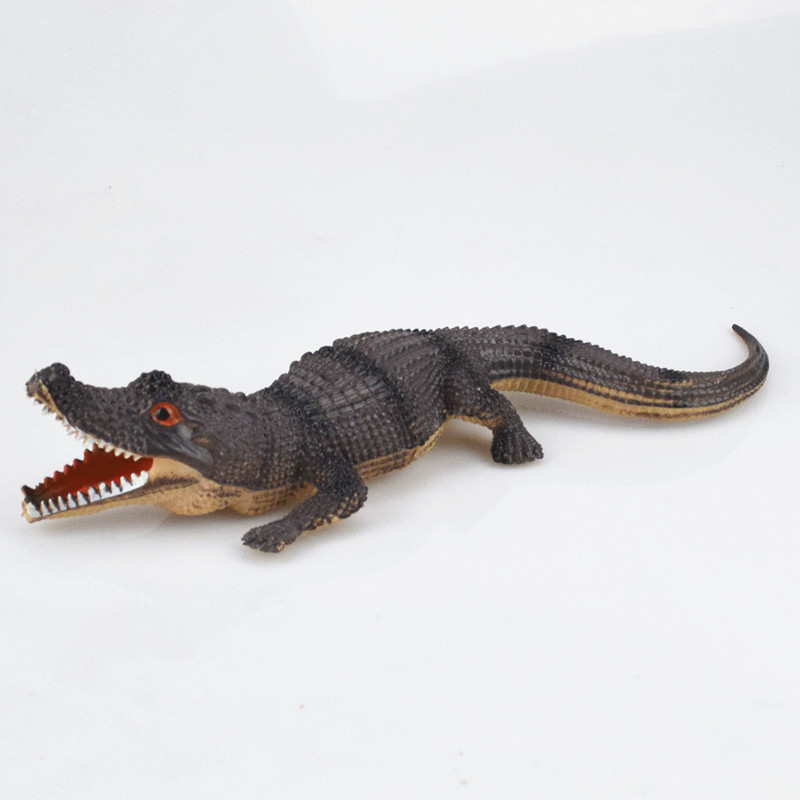 Realistic Plastic Crocodile Tricky Toy Fake Snakes Garden Props Joke Prank Halloween