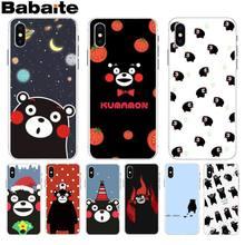 92ad193562 Babaite Japan Kawaii Kumamon lovely Bear 2018 Hot Selling phone case cover  for Apple iPhone 8