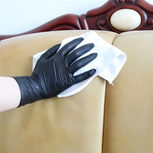 Image 5 - Nitrile Gloves Black 100pcs Food Grade Waterproof Allergy Free Disposable Work Safety Gloves Nitrile Gloves Mechanic Synthetic