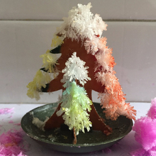 Newly 2019 65mm Multicolor Paper DIY Growing Magic Tree Magically Christmas Trees Educational Kids Science Toys Novelties 50PCS