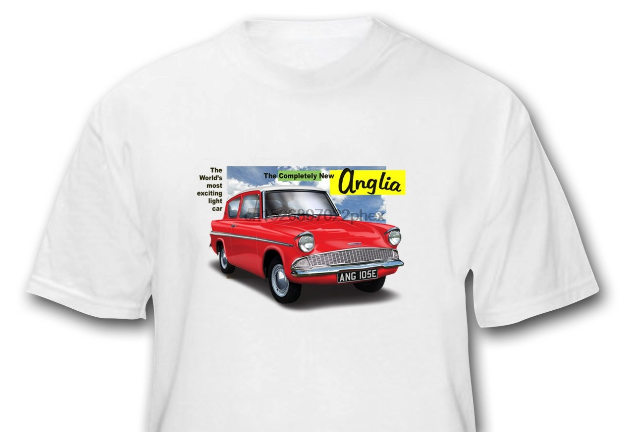 Gift for Dad Him Still Plays With Cars Anglia 105e T Shirt