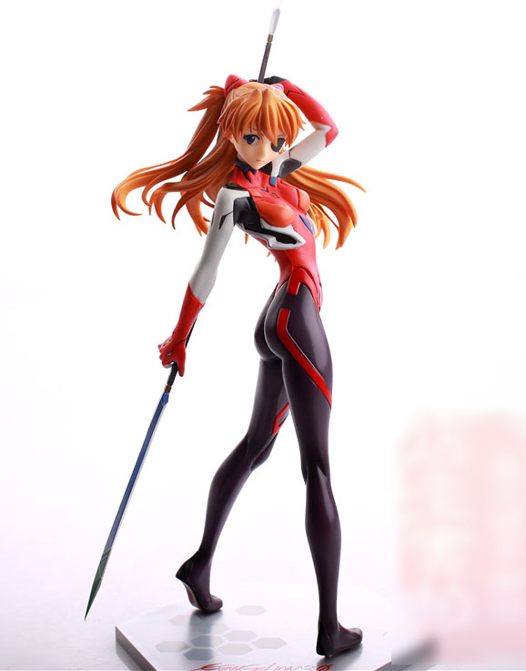 26.5CM Japanese anime figure Neon Genesis Evangelion Asuka Langley Soryu action figure collectible model toys for boys 26 5cm japanese anime figure neon genesis evangelion asuka langley soryu action figure collectible model toys for boys