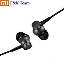 Écouteurs dorigine Xiaomi Mi Piston dans loreille Xiaomi édition fraîche Version de base écouteurs en Stock avec micro pour Samsung pour Xiaomi