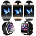 2016 HOT SALE fashion Q18S Smart Bluetooth Watch GSM Camera TF Card Wristwatch for Samsung  NICE