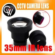 1/3 35mm 렌즈 F2.0 CCTV MTV 보드 650 IR 필터 렌즈 보안 CCTV 비디오 카메라