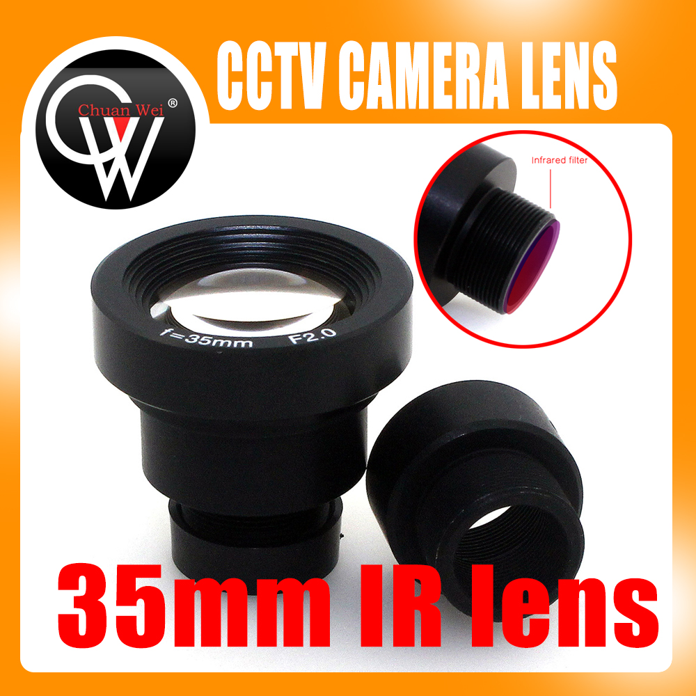 1/3 '' 35мм обектив F2.0 CCTV MTV Board IR филтър Обектив за сигурност CCTV видеокамери