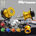Для мотоциклов SUZUKI SV1000 SV 1000 S SV1000S SV1000 S  8 мм  8 мм  слайдер с ЧПУ  винты с подставкой
