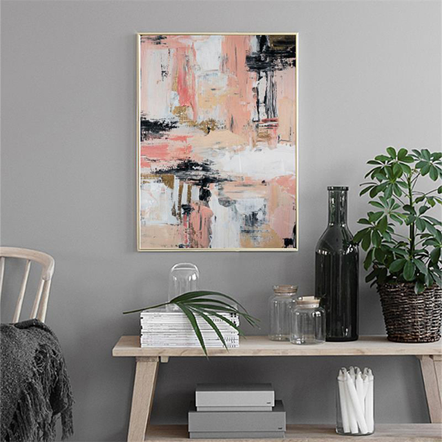 Nordic Fashion Vogue Simple Abstract Decoration Posters  1