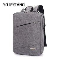 YOTEYIANO Mens Backpack Business Laptop Rucksack Multifunctional Nylon College Teenager Travel Satchel Student Bag