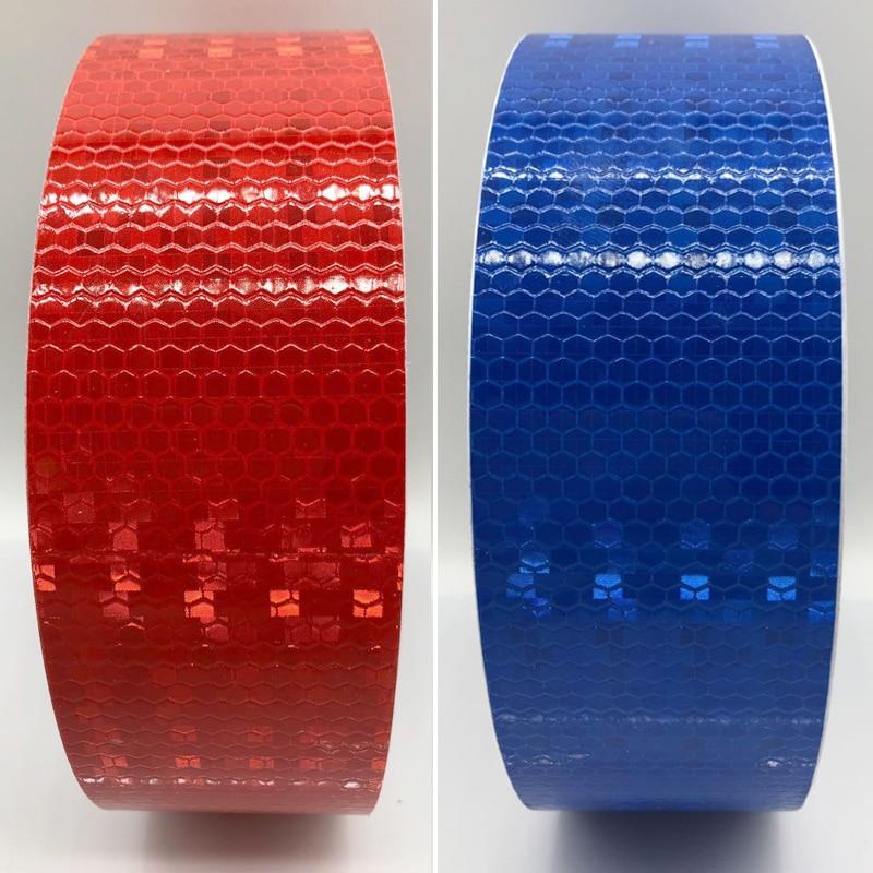 5cmx10m Reflective Bicycle Stickers Adhesive Tape For Bike Safety Reflective Bike Stickers
