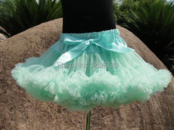 Holiday venta Del Envío pettiskirts del tutú muchachas de la princesa de la gasa pettiskirts mullidos para adolescentes PETS-109