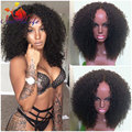 Afro Kinky Curly Synthetic Lace Front Wig With Baby Hair Heat Resistant Half Wig Synthetic Curly For Black Woman Free Shipping