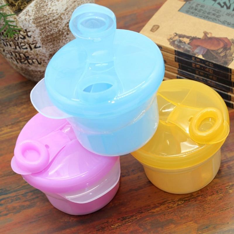 Baby Milk Powder Dispenser Feeding Container Storage Box Travel Bottles Kids Care