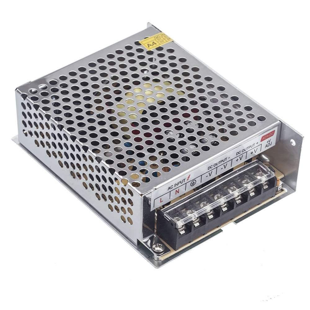 AC 100V - 240V to DC 24V 5A 120W Power Supply Driver Switching Voltage Transformer for LED strip / billboard / industrial equip