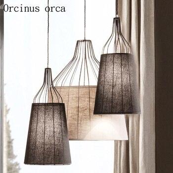 Итальянский современный минималистичный Люстра для гостиной, спальни, скандинавский светильник, роскошный Креативный светодиодный подвес...