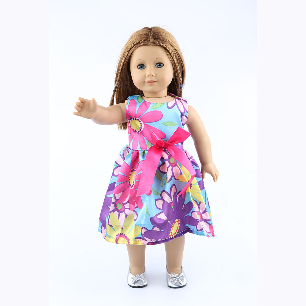 ộ_ộ ༽18-inch American girl dolls clothes manually white wedding ...