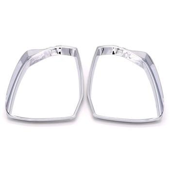 Coperchio Di Sfiato Esterno   Per Audi Q5 FY 2018 Accessori ABS Cromato Esterno Specchio Pioggia Neve Guard Sun Vent Della Copertura Trim 2 Pz