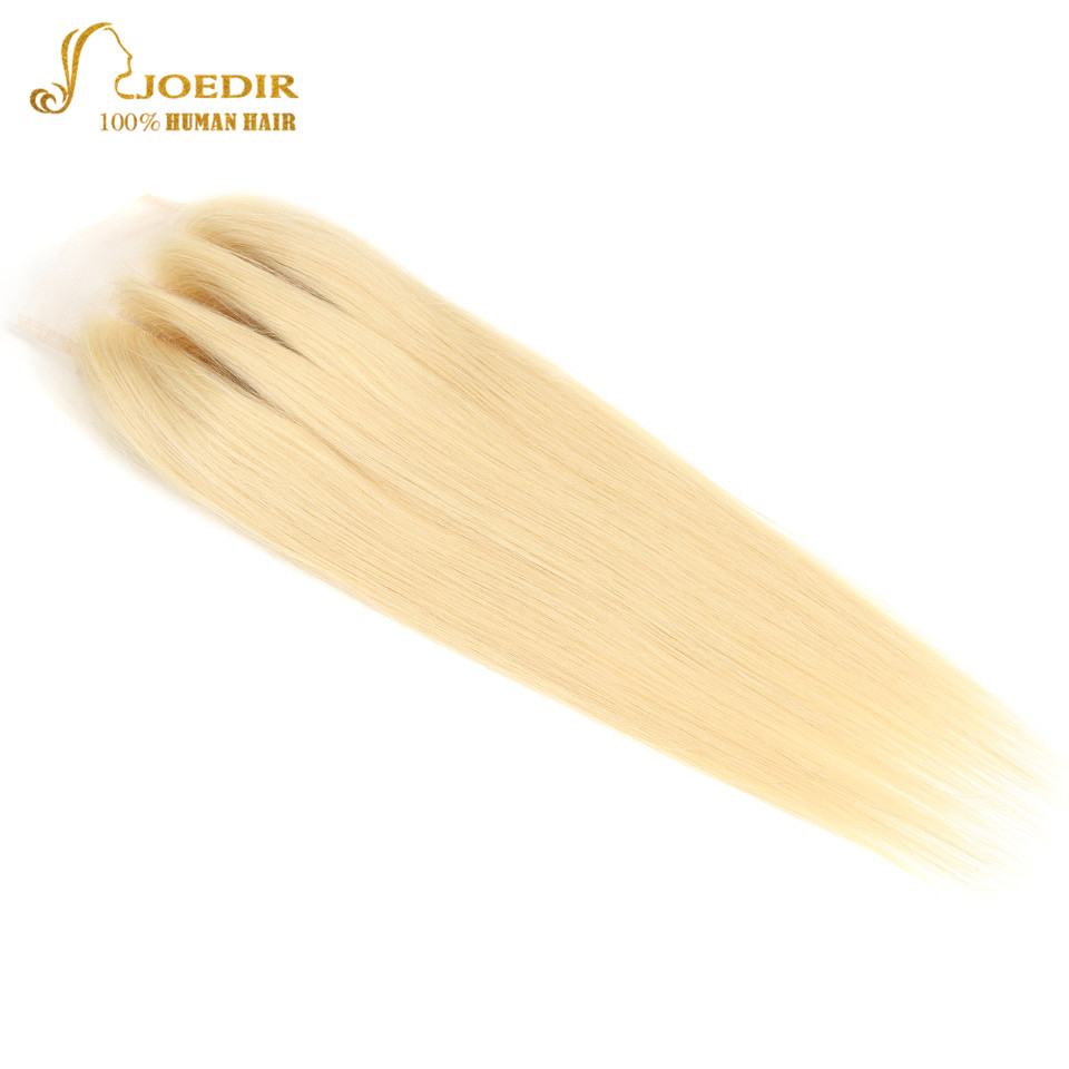 HTB1T7QkadfvK1RjSspoq6zfNpXau Joedir Hair 613 bundles with closure Brazilian Straight Hair Bundles With Closure Human Hair Weave 3 4 Bundles With Closure