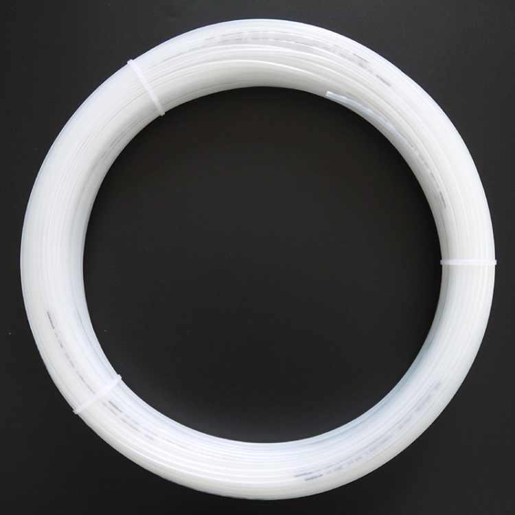 PA6 أنبوب النايلون OD 4 مللي متر x 2.5 مللي متر ID ماسورة زيت عالية الهوائية أجزاء ضغط 2.0MPa ضاغط الهواء خرطوم المياه الصلب شفافة الأسود