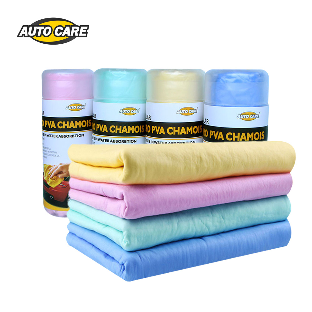 Car Wash & Maintenance Auto Care 4-pack Magic Synthetic Deerskin Pva Chamois Car Cleaning Cham Towel Wash Cloth Sponge Plas Chamois With Storage Case Curing Cough And Facilitating Expectoration And Relieving Hoarseness Automobiles & Motorcycles