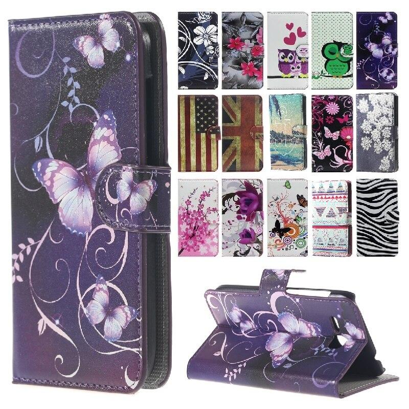 Cartoon Leather Cover Coque for ASUS X014D Zenfone Go 2016 ZB452KG GOX014D ZB ZB452 452 452KG KG Case Wallet Flip Phone Cases