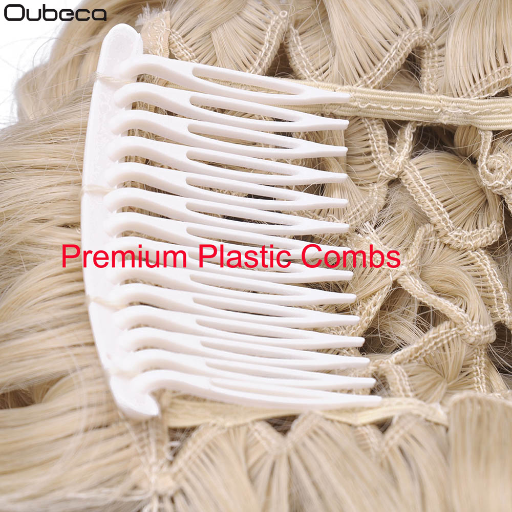 Oubeca Short Messy Curly Hair Buns Extensions Easy Stretch Hair Combs Scrunchie Chignon Clip In Ponytail Extensions For Women in Synthetic Chignon from Hair Extensions Wigs
