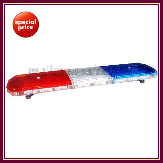 22*TIR-4 1W LED module, TBD-GA-10326K LED Lightbar, 18 flash patterns, waterproof, for ambulance/fire truck
