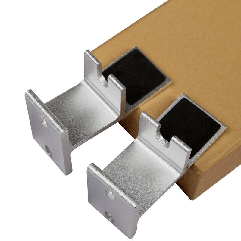 (1 Pair) Aluminum Alloy Audio Speaker Mount Bracket TV3 Host Rack Audio Frame YX03