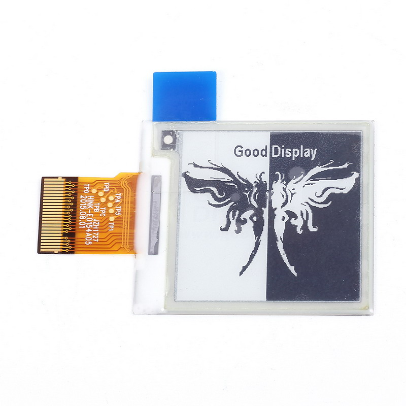 Electronic Ink Screen 1.54 inch E-Paper Electronic Paper 200x200 Partial Refresh SPI Interface