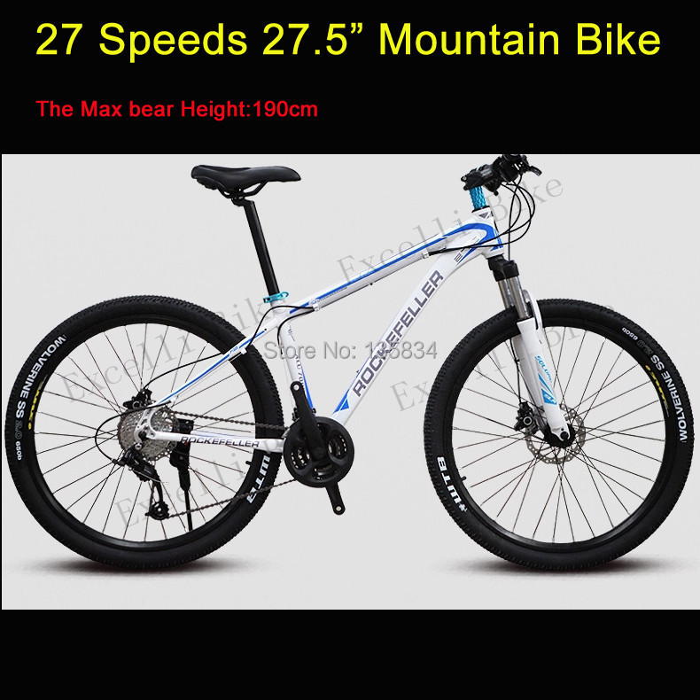 27 Speeds Bicicleta Mountain Bike bicicletas 27.5 Wheel 17.5inch ...