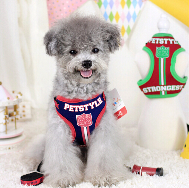 15pt26 Correa de Diseño de Moda de Productos Para Mascotas Ropa Para Perros Masc