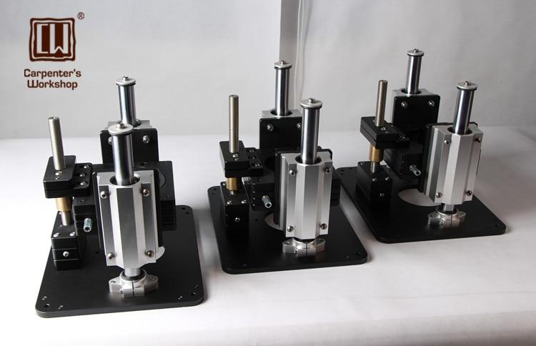 Heavy Duty Router Ascensore con Alluminio Router Inserto Per Incisione Piastra di Vibrazione Bordo Bachelite