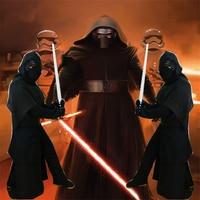 Star Wars 7 CosKylo Ren Cosplay Costumes Adult CosKylo Ren Cosplay Full Set Kids Boys Deluxe