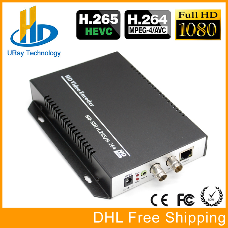 URay HEVC H.265 /H.264 HD /3G SDI To IP Live Streaming Video Audio Encoder HTTP, RTSP, RTMP, UDP, ONVIF uray 3g 4g lte hd 3g sdi to ip streaming encoder h 265 h 264 rtmp rtsp udp hls 1080p encoder h265 h264 support fdd tdd for live