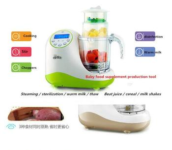 Envío Gratis Nueva Moda Suplemento Alimenticio Bebé Máquina De Cocina  Cocinar Salteado Máquina Multifunción Bebé Molienda Herramientas
