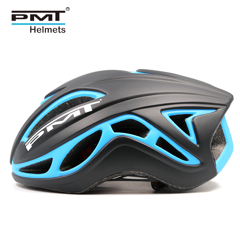 PMT road cycling helmet 2018 bicycle specialize bike helmets for men MTB mountain bike helm women 19 holes ultralight 345g M L цена