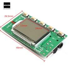 Precio al por mayor DSP PLL 87-108 MHz Digital Junta Módulo Emisor de FM Estéreo de Micrófono Inalámbrico Componentes Acústicos