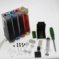 BLOOM full ink DIY Ciss Ink kit for HP 63 XL ink cartridge for HP DESKJET 3630 3632 Officejet 4652 4655 ENVY 4522 Printer Continuous Ink Supply System     -