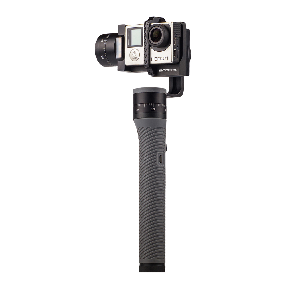Snoppa SnappaGo 3-Axis Handheld Handle Gimbal Stabilizer For Gopro Hero3 3+ 4 Action Camera Video Recording For xiaomi Yi Camera [hk stock][official international version] xiaoyi yi 3 axis handheld gimbal stabilizer yi 4k action camera kit ambarella a9se75 sony imx377 12mp 155 degree 1400mah eis ldc sport camera black