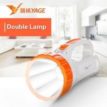 YAGE portable light led spotlights camping lantern searchlight spotlight handheld desk lamp 2-modes
