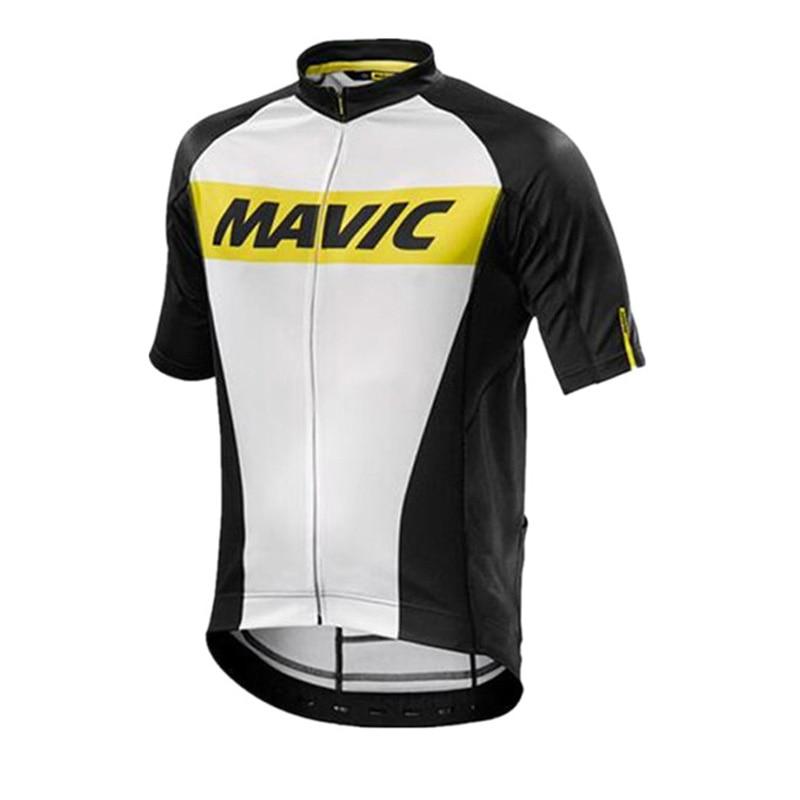 ALI shop ...  ... 32962345899 ... 5 ... 2018 MAVIC Cycling Jersey Tops Racing Cycling Clothing Ropa Ciclismo Short Sleeve mtb Bike Jersey Shirt Maillot Ciclismo K122402 ...