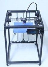 2017 большой размер 3D Машина Принтер Пандусы черный corexy Полный Комплект 3d принтер комплект