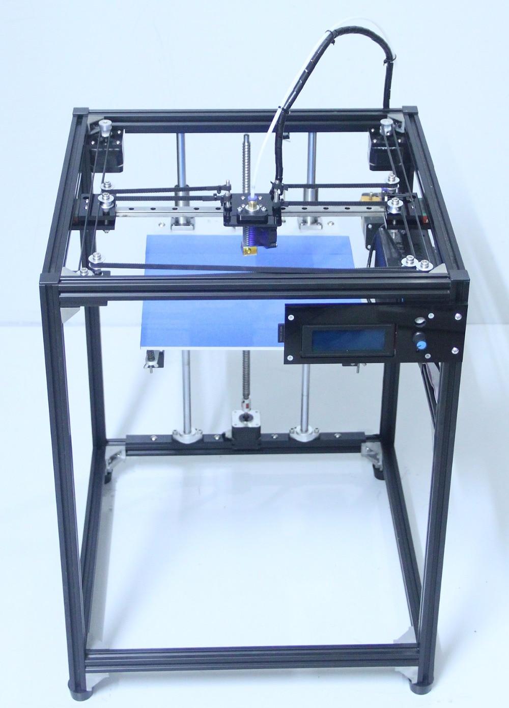 Ifancybox3 unique grande taille 3D Imprimante Machine Rampes noir corexy Kit Complet 3d imprimante kit