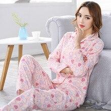 Пижамы наборы M-3XL БУЦ 100-120 см вес 40-90 кг женские пижамы наборы хлопковое ночное белье Большие размеры