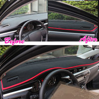 Car Dashboard Dash Sun Cover Pad Mat Carpet Car Fit For Toyota Corolla 2014