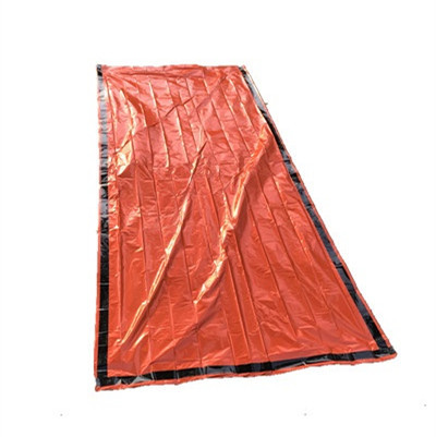 Jolmo Lander Emergency Bivvy Survival Mylar Thermal Sleeping Bag Escape Bags Orange Pack Of 2