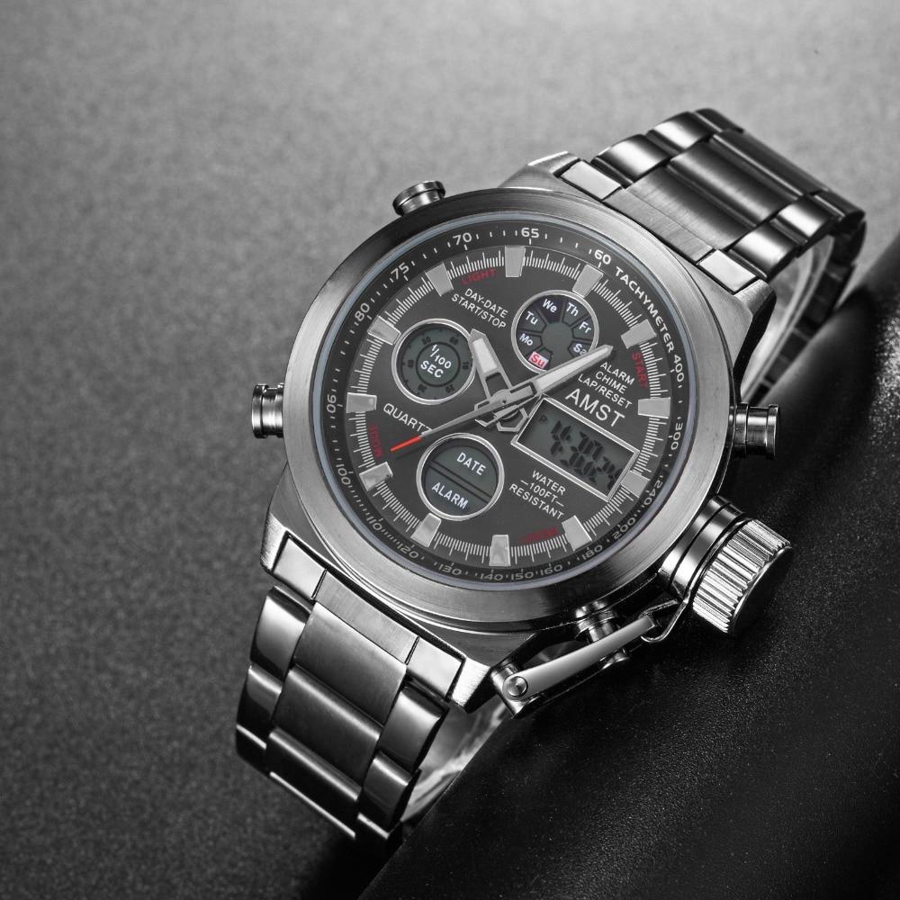 Clock Male Watches Quartz Sport Waterproof Famous Relogio Masculino Luxury Brand Men's