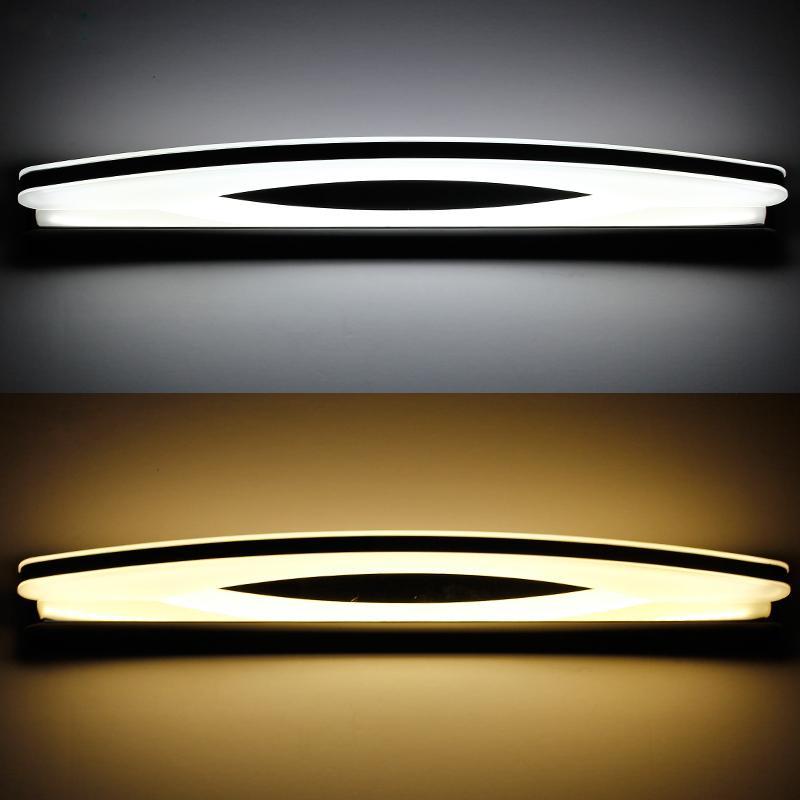 Bathroom Led Light Fixtures Over Mirror aliexpress : buy 800mm new design indoor bathroom led light