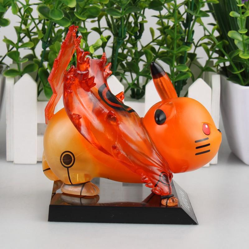 Pikachu Kyubi Cosplay Action Figure 12cm