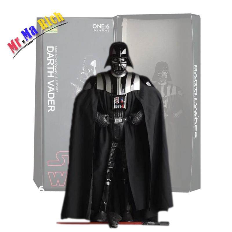 Pazzo Di Giocattoli Star Wars Figure dark vador Di Azione Del Pvc Figure Da Collezione modèle jouet 26 Cm Spedizione Gratuita